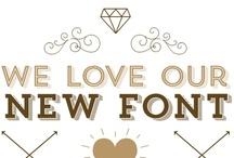 Trending Type / Angesagte Schriften, die Trends entfachen: Fonts, die in diese Liste gelangen, sind im Gespräch ▶ http://www.fontshop.com/fonts/popular.php