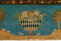 Antique Exceptional Hooked Rugs / Exceptional Examples of Early Hand Hooked Rugs: Preserving the Past / by Lynne Kossarek