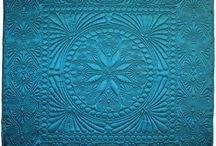 Antique Quilts-Linsey Woolsey & Wholecloth / Early Quilts-Wholecloth & Linsey Woolsey