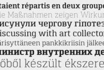 Multilingual Fonts