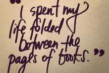 Books, my love.