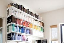 Organise My World / organising ideas for the home and office / by Dannielle Cresp