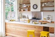 Kitchen & Dining / kitchen and dining spaces / by Dannielle Cresp