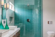 Bathrooms / bathroom spaces / by Dannielle Cresp