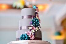 Wedding Cakes / Cakes I've shot at weddings.  Cricket's Photography www.cricketsphoto.com  #weddingcake Orlando Wedding Photographer