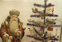 Christmas - Feather Trees / Early Christmas Feather Trees & Stands