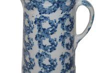 Spongeware - Blue & White / I Collect Blue and White Spongeware