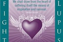 "Lupus ""Awareness"" / I support Awareness - I don't have Lupus but I know those that do and those that had it (they are no longer with us) -   Please help Support the Awareness for all Invisible Diseases.... / by Debbie Cross-Ellis"