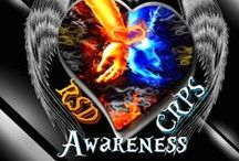 """RSD - CRPS """"""""FIND A CURE"""""""" / If you would like to pin to the group board please message me.. GB all our Warriors..   This board """"Becoming a GROUP Board"""" was created in order to get Awareness for our Disease. We have to find a cure - The Leading Cause of Death for RSD/CRPS Patients is Suicide - The PAIN HAS TO STOP / by Debbie Cross-Ellis"""