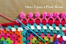DIY: Crochet / #Crochet, #YarnBombing, #HyperbolicCrochet, #GrannySquares