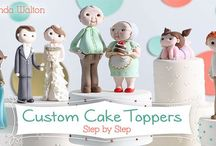 My Craftsy Classes! / It's here! Now you can learn with me online as I walk you through how I create my little fondant figures! Starting with my bride and groom, grandma and grandpa and ending with a happy little girl! Please use my 50% code that I am giving you here - www.craftsy.com/ext/BrendaWalton_4686_F