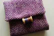 Harris Tweed gifts / Textile gifts I make from Harris Tweed