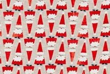 Christmas in July / Discover wonderful projects and whimsical fabrics for Christmas decorations!