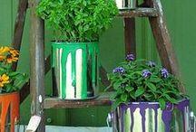 Garden Decor Ideas / Beautify your garden with these garden decorating ideas. Garden decor, garden ideas, garden design, garden DIY.