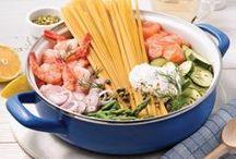One pot pasta, one pan et Cie