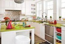 15 décors hauts en couleur / Des couleurs flamboyantes pour illuminer les pièces!