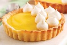 Desserts au citron / Ces desserts rafraîchissants mettent en vedette un agrume bourré d'antioxydants: le citron!