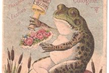 Frogs / Frogs & Toads in Art and Illustration
