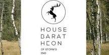 "♦ ASOIAF | House Baratheon / ♦ ""Ours is the fury"" ♦ House Baratheon aesthetics."