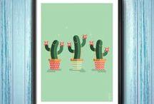 CACTUS BAND / This is the story of cacti potted with suspenders. A story of cacti full of life, inhabited by swing and groove, caught in the act of playing air music. People like you and me finally. ;) / C'est l'histoire de cactus empotés avec des bretelles. Des cactus habités par le groove et le swing, saisis en flagrant délire d'air music. Des gens comme vous et moi finalement. ;)
