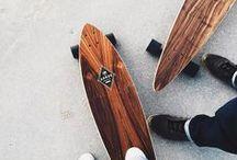 Skateboarding ↟
