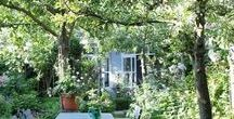 angoli accoglienti per giardino e dintorni / spunti e idee per il giardino in campagna