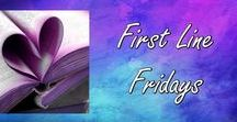 Fabulous First Lines / Check out the first line or lines of these books to see if they snag your interest.