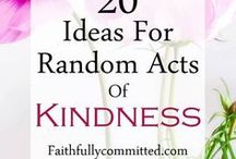 Pay it Forward & Random Acts of Kindness Ideas - {a} Mindful Life / pay it forward | pay it forward ideas | pay it forward ideas for kids | pay it forward ideas random | random acts of kindness | random acts of kindness ideas | random acts of kindness kids |