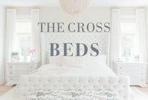 The Cross Beds / #bed #beds #bedroom #bedroomdesign #home #house #interiordesign #turftedbed #storagebed #love