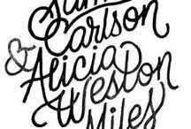 INSPIRING: lettering