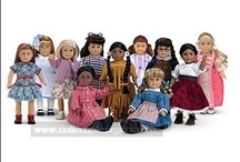 All American Girls / Studying American history through the American Girl Doll books. / by Kelly Hart