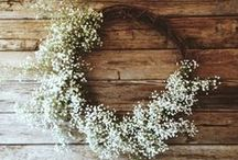 Fabulous Wedding Flowers / Select seasonal locally grown flowers for your eco-friendly wedding.  Find a local grower, grow your own, ask a friend with a garden to grow them for you or gather armfuls from your friends, neighbours and relatives gardens.