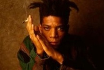 Jean-Michel Basquiat / I don't think about art when I'm working. I try to think about life. ~Jean-Michel Basquiat