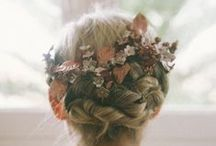 Flower Crowns  / Flower crowns, or floral head bands, are the latest huge trend to hit weddings and we think they are a perfect for a bride throwing a green and natural wedding.
