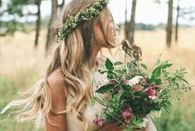 Bountiful Bridal Bouquets / Bouquets for beautiful brides and their maids.  Freshly picked, locally sourced and seasonal is best for a green a luscious bunch.