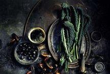 Food {dark tones}