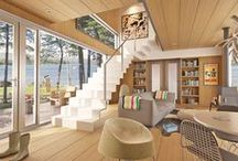 Tiny Houses & Cabins / by Kelsey