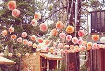 Garlands Galore / Cheerful wedding & celebration garlands created from all manner of things - flowers, paper, recycled rags...