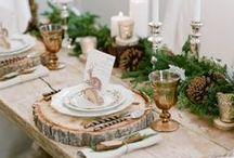 Woodland Weddings / Whimsical | Trees | Earthy | Natural | Lush | Green |Ffairies | Woody | Moss | Ferns | Candlelight