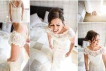 Bridal Prep / The bride getting ready