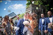 Confetti / Shots of the confetti at weddings