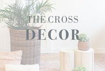 The Cross Decor / #home #decor #design #style #houseandhome #object #interiordesign #renovation #ontrend #timeless #fabrics #patterns #texture #beauty #love #Yaletown #Vancouver
