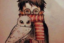 Harry Potter stuff / Because I like fangirling
