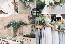 Wedding Colour Trends / Wedding style trends. Inspiration board to help you choose your wedding theme and colour palette