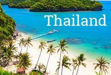 """Travel in Thailand / Are you looking to travel around Thailand, known as """"the land of smiles""""?  Here find everything related to Thailand Travel from 2 Digital Nomads who lived in Koh Samui for 6 months and traveled the country.  Find Itineraries, how to's, destination guides, food guides and travel deals for Thailand."""