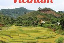 Travel in Vietnam / Everything you need to know about traveling Vietnam! We motorbiked across the country over a month and a half exploring many of the popular and off the beaten track destinations of Vietnam.  Find Itineraries, guides to National parks, popular city guides, food guides and much more on our Vietnam Travel Board.