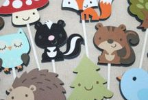 Woodland Party / A collection of ideas to throw a perfect woodland animals party or forest friends party!  Great for a woodland birthday or woodland baby shower!