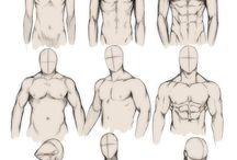 Drawing male anatomy / Male anatomy.