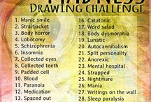 Drawing challenges / Drawing challenges.