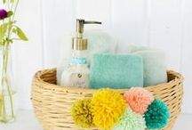 Put A Pom On It | DIY Ideas / Everything's better if you put a pom on it. Pompom DIY ideas
